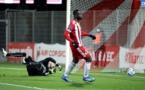 ACA : Moussiti-Oko frappe d'entrée face à Caen (1-0)