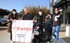 Ajaccio : l'association Inseme a remis le prix de sa tombola de Noël