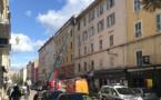 Bastia : Intervention en cours sur un toit du boulevard Paoli