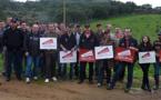 La session ovine des jeunes agriculteurs de Corse-du-Sud