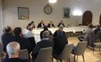 Election à la présidence de la fédération française de Football : Noël Le Graët en campagne en Corse