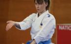 Alexandra Feracci victorieuse de l'International Karaté test-match