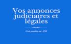 Les annonces judiciaires et légales de CNI : L'ORTU DI A PORTA
