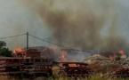 Incendie sur AM Environnement : le feu éteint, une plainte sera déposée