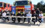 La caserne du centre de secours de Porto-Vecchio sera dotée de panneaux photovoltaïques