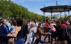 Bastia : Flashmob pour la culture place Saint Nicolas