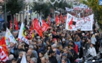 Bastia : CGT, FSU et FO dans la rue le 1er mai