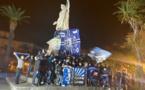 EN IMAGES - Malgré le couvre-feu, Bastia fête ses champions