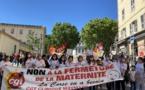A Bastia la mobilisation contre la fermeture de la maternité de Maymard continue