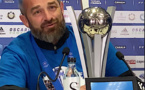 "VIDEO - Le SC Bastia champion de France - Mathieu Chabert : ""il est beau ce trophée"""
