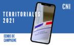 Territoriales : Echos de campagne du 18 mai 2021