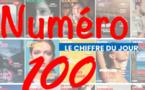 Le chiffre du jour : 100 numéros