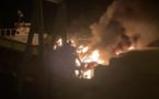 Huit bateaux détruits après un violent incendie au port de plaisance de Sagone