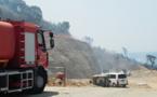 Ajaccio : Incendie vite maîtrisé au Vazzio