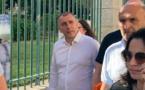 Jean-Christophe Angelini devant la préfecture de Corse ce mardi 22 juin