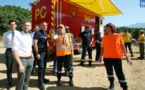 Lutte contre l'incendie : I sintineddi gravuninchi  veillent sur la Gravona
