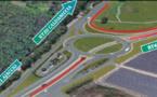 Ajaccio : Les travaux d'aménagement du rond-point de la Gravona ont débuté