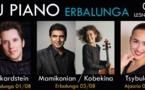 10ème édition des Nuits du piano d'Erbalunga : des virtuoses sur les scènes corses