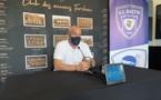 Mathieu Chabert lors de la conference de presse du 22 juillet dernier