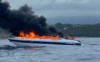 Une vedette de 20 m en feu dans le golfe de Porto-Vecchio