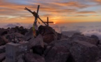 La photo du jour : coucher de soleil et bivouac au sommet du Monte Cintu