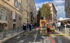 Une explosion suivie d'un incendie dans le centre-ville de Bastia
