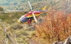 Un feu de végétation brûle 20 hectares à Palneca