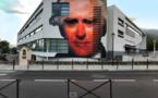 40 ans de l'Université de Corse : une fresque monumentale rend hommage à Pasquale Paoli