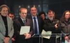 Les quatre lauréats 2013 du Prix Don-Joseph Morellini