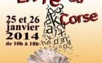 Le Salon du Livre Corse les 25 et 26 Janvier à Marseille