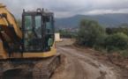 Confina II : Le pont de secours mis en place entre le 20 et le 21 Mars
