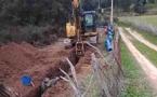 Sarrola-Carcopino : L'office hydraulique développe son réseau