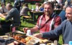 Rassemblement d'agriculteurs autour de la filière fruits et légumes à Lucciana