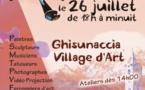 Artissima à Ghisonaccia : L'art dans la rue