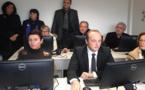 """Laurent Marcangeli a inauguré le laboratoire municipal de langue corse : """"Je vais rattraper le temps perdu…"""""""