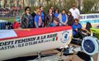 Bastia : Elles vont ramer jusqu'à l'Ile d'Elbe pour les droits des femmes