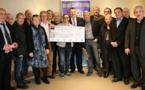 Véronique Costantino reçoit la première bourse internationale au Rotary Club d'Ajaccio