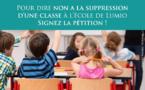 Lumio : Les parents d'élèves bloquent la RN 197