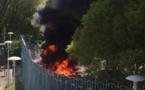 Bastia : Les agriculteurs en colère brûlent des pneus devant la préfecture