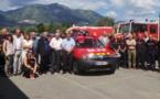 240 collégiens « jeunes-citoyens » à la caserne des pompiers de Cervioni
