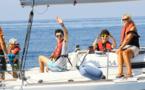 Ajaccio : Opération Handivoile à l'initiative du Rotary Club