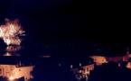 Bastia : Festival pyrotechnique au-dessus de la ville