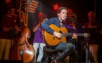 Thomas Dutronc à la première de Jazz in Lumiu avec le Calvi New Orléans Band et les Nicolaï Sisters