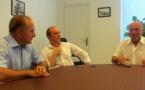 José Rossi, Laurent Marcangeli et Sauveur Gandolfi-Scheit entrent en campagne !