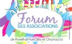Le forum des associations des communes de Prunelli-di Fium'Orbu et Ghisonaccia
