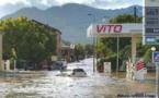 Intempéries : Ponte Novu et Ponte Leccia sous les eaux !