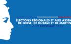 Territoriales 2015 : 58,13 % de taux de participation en Corse du Sud, 62,24% en Haute-Corse