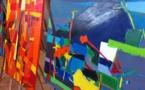 """Ajaccio : L'artiste peintre Francesca dans le """"Beau"""" au Borgu"""