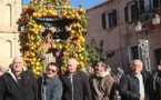 L'Evêque de Corse à Aregno pour présider les cérémonies de Saint-Antoine