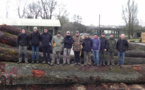 Les étudiants forestiers de Sartene en Haute-Marne